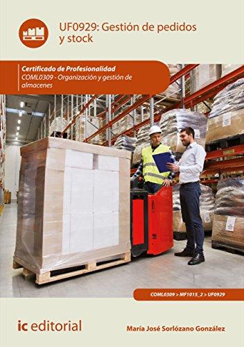 Gestión de pedidos y stock. COML0309 por María José Sorlózano González