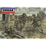 Emhar WW1 British Infantry & Tank Crew - 1:72 Plastic Model Kit