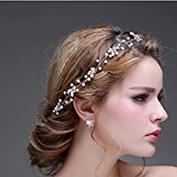 Amazon.it  accessori acconciature sposa - Cerchietti e fasce per ... 59c3a49668b8