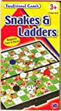Traditional Magnetic Travel Games Snakes And Ladders Mini Game
