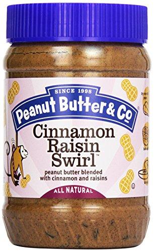 CMC Peanut Butter Cinnamon Raisin Swirl, 454 g - Pb Swirl