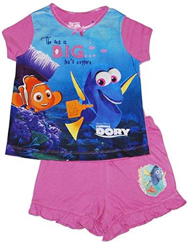 Girls Disney Finding Nemo Dory Short Pyjamas 1 upto 9 Years