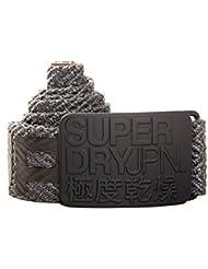 Superdry Herren Gürtel Grau grau
