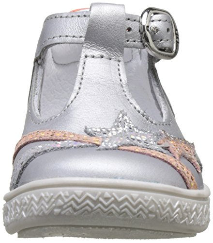 babybotte - Starmiss, Pantofole a Stivaletto Bambina Gris (Gris/Or Rose)