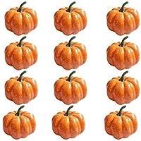 Mini calabazas artificiales, cosecha de otoño