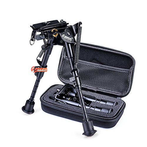 zeadio 6-9 inches Swivel Pivot Tiltable Bipod with for sale  Delivered anywhere in UK