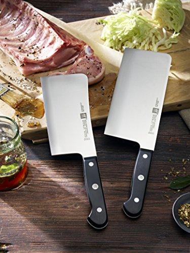 """Zwilling """"Gourmet"""" 2-teiliges Messerset mit Hackmesser und Chinesischem Kochmesser"""