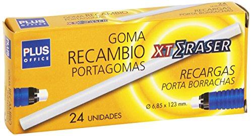 Plus Office XT-Gomma di ricambio per matita, gomma, 24 (Eraser Di Matita)