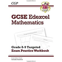 New GCSE Maths Edexcel Grade 9 Targeted Exam Practice Workbook (includes Answers) (CGP GCSE Maths 9-1 Revision)