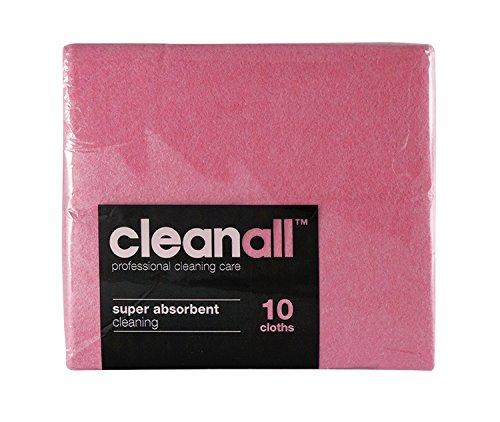 cleanall jcc10r janitors panno, Super assorbente, colore: rosso (Confezione da 24)