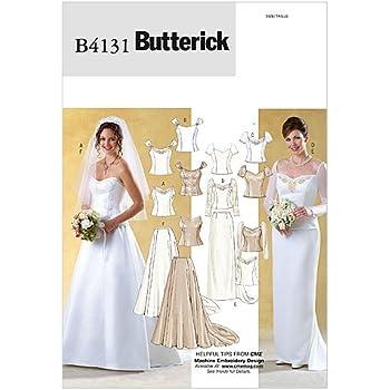 Burda Damen Schnittmuster 6869 Hochzeitskleid und Abendkleider ...