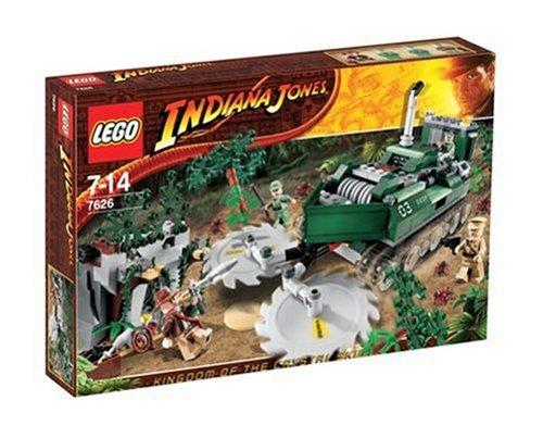 Lego Indiana Jones 7626 - Jungle (Hut Und Peitsche Jones Indiana Kinder)
