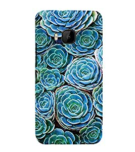 printtech Nature Flowers Back Case Cover for HTC One M9 / HTC M9 / HTC One Hima