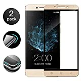 [2-Pack] Tempered Glass for LeEco Le Pro 3 AI, 3D Full