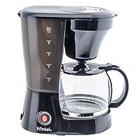 Macchina per il caffècompatta per preparare fino a 12 tazze di caffè con filtro.  Caraffa in vetro, filtro permanentee cucchiaino dosatore inclusi.  Ilmodello h.koenig KF12 è una macchina per ilcaffè affidabile, capace di servire fino12 perso...