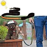 Your only brother Haustier Reizende hübsche schöne Art und Weise Bequeme 1.2m mittlere und große Hundehaustier Solar + USB, die LED-Lichtzugseil auflädt, Größe: 120cm Bequem (Farbe : Gelb)