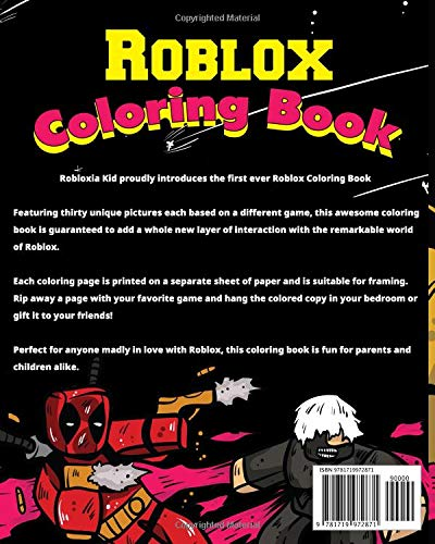 Roblox Coloring Book Coloring Books For Kids 3 58
