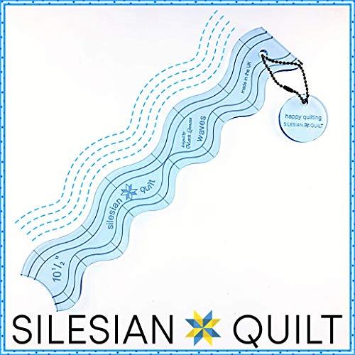 Silesian Quilt Vorlage zum Quilten von Waves