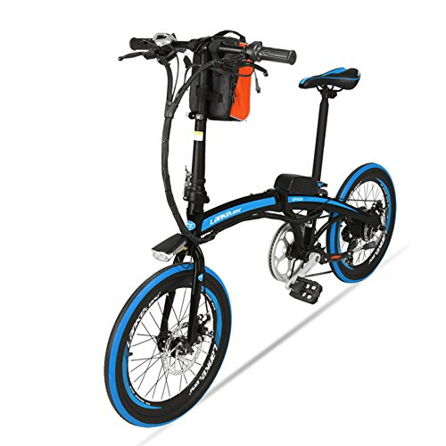 51urQevTezL. SS500  - GTYW, Electric, Folding, Bicycle, Mountain, Bicycle, Electric Bicycle, 20 Inch, 36v, Power Electric Vehicle, Battery Life 55KM.