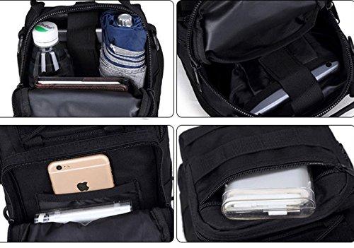 LemonGirl Fashion Sling Chest Rucksack für Männer und Frauen Schulter Unisex CrossBody Tasche für Reisen Wandern Camping Radfahren Mini Adult Purse Rucksack GreenCamouflage