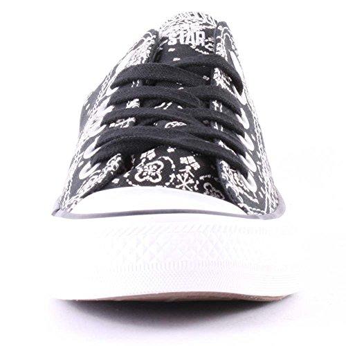 Converse schwarz wei Damen Chuck Converse Chuck Sneaker Taylor Bandana Prt dxnwTqwg8R