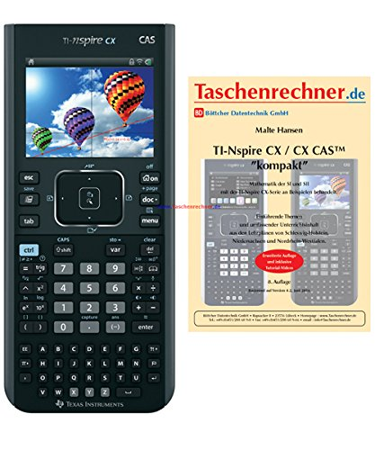 Texas Instruments TI Nspire CX CAS + Fachbuch Texas Instruments Nspire Cas