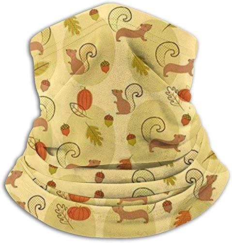 Not applicable Nicht zutreffend süße Eichhörnchen Kiefer Nuss Kalt Wetter Gesichtsmaske Nackenwärmer Fleece Kapuze Winter Hüte