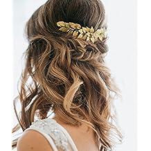 Haarschmuck hochzeit gold