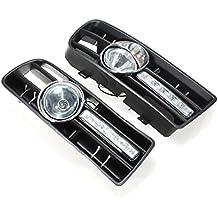 Elegante _ Smart 1par claro Len & LED de conducción diurna Luz antiniebla Grill F/VW Golf MK499–04