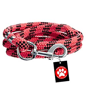 Pawzone Dog Rope Chain Synthetic Yarn, Medium (Colour May Vary, MPZQZZA)