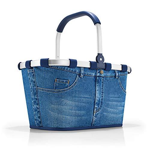 Platz Outfit Ideen - reisenthel carrybag jeans Einklaufskorb 48 x