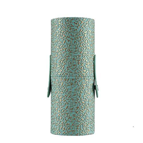 Vovotrade® Custodia In Pelle Cosmetici trucco Portable Storage sacchetti dell'organizzatore pennello tazza titolare (Titolare Di Pennelli Di Trucco)