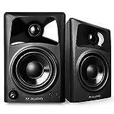 M-Audio AV 32   Paire d'Enceintes de Monitoring Actives Compactes 20W - Système Audio Mac et PC de Référence pour Création Multimédia