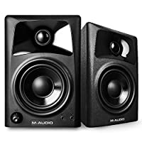M-Audio AV32 | Compact Active Desktop Reference Monitor Speakers