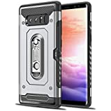Samsung Galaxy Note 8 2017 Case, Cellphone Case Defender Impact Rugged Case With Cellphone Case Protective Case Case Compatible With Samsung Galaxy Note 8 2017 (Silver)