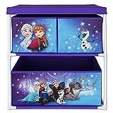 Aufbewahrungsschrank mit Motivauswahl- Spielzeugkiste - Aufbewahrungsregal für Kinder (Frozen)