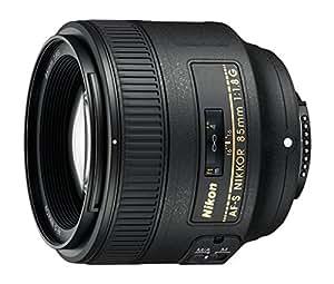 Nikon Obiettivo Nikkor AF-S 85mm1:1,8G, Nero [Versione EU]