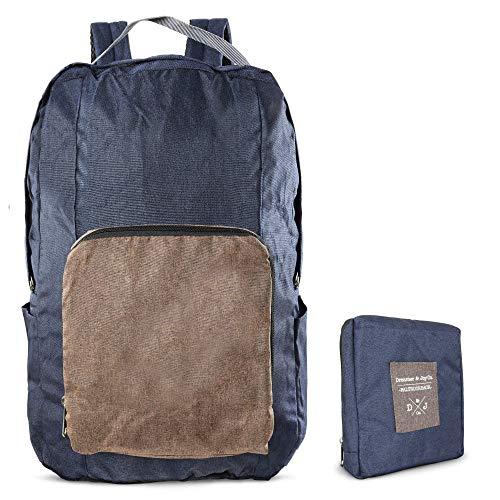 Faltbarer Rucksack für Reisen & Wanderungen - 20 Liter Volumen -Tagesrucksack, Leichter Rucksack, Day-Pack für Unterwegs - Ultraleicht: Nur 200g