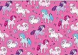 SUSY CARD 11253499 Geschenkpapier Little pony, auf Rolle
