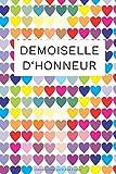 Demoiselle d'honneur: Livre pour la demoiselle d'honneur avec 20 listes de contrôle et 80 pages de notes lignées