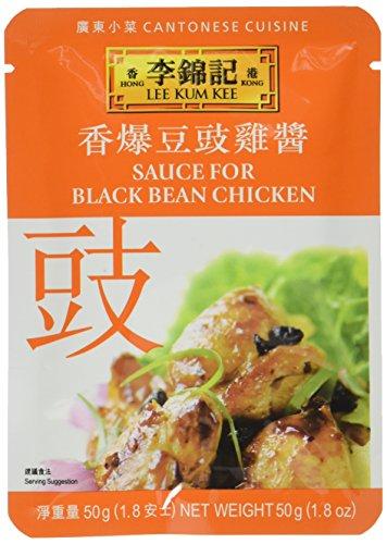 Lee Kum Kee Sauce mit schwarzen Bohnen für Huhn, 6er Pack (6 x 50 g)