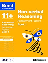 Bond 11+: Non-verbal Reasoning Assessment Papers: 10-11+ years Book 1