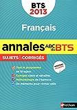 ANNALES ABC BTS 2013 FRANCAIS...