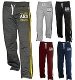 Men's Fleece Joggers Track Suit Bottom Jogging Exercise Fitness Boxing MMA Gym Sweat Fleece Trousers
