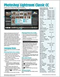 Adobe Photoshop Lightroom CC 2018 Classic Introduction Quick Reference Guide (Cheat...