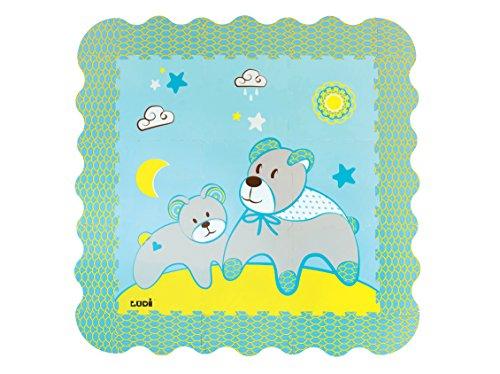 Ludi Alfombra Espuma, diseño de oso