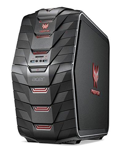 Acer Predator AG6-710 - Ordenador de sobremesa (Intel Core i7 6700K, 16 GB de RAM DDR4, disco de 128 GB SSD + 1 TB HDD, Nvidia GTX960 a 2 GB, Windows 10) negro