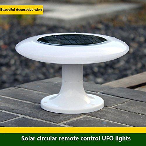 WW Outdoor Solarleuchten Garten Lichter Dekorative Lichter LED UFO Lichter Beleuchtung Wandleuchte Haushalt Super Helle Fernbedienung Landschaft Lichter