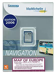 VIAMICHELIN Carte Europe SD 2 Gb pour GPS VIAMICHELIN
