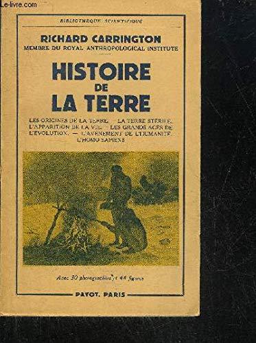 Histoire de la terre.